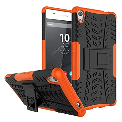 best cheap 16d54 1030e Sony Xperia XA Ultra Case, Xperia XA Ultra Cover, Dual Layer Protection  Shockproof Hybrid Rugged Case Hard Shell Cover with Kickstand for 6.0''  Sony ...