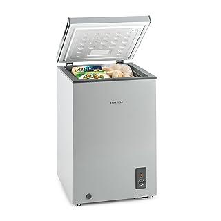 Klarstein Iceblokk congelador horizontal (300 litros capacidad, 142 kWh/a, clase eficiencia energética A+++, 4 estrellas, bajo consumo, temperatura entre -26° y -15° C, nevera arcón) - blanco clase eficiencia energética A+++