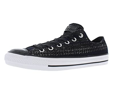 Amazon.com | Converse Chuck Taylor Oxford 149652C. Black/Navy, Black Patent  Toe (8 Mens/10 Womens) | Fashion Sneakers