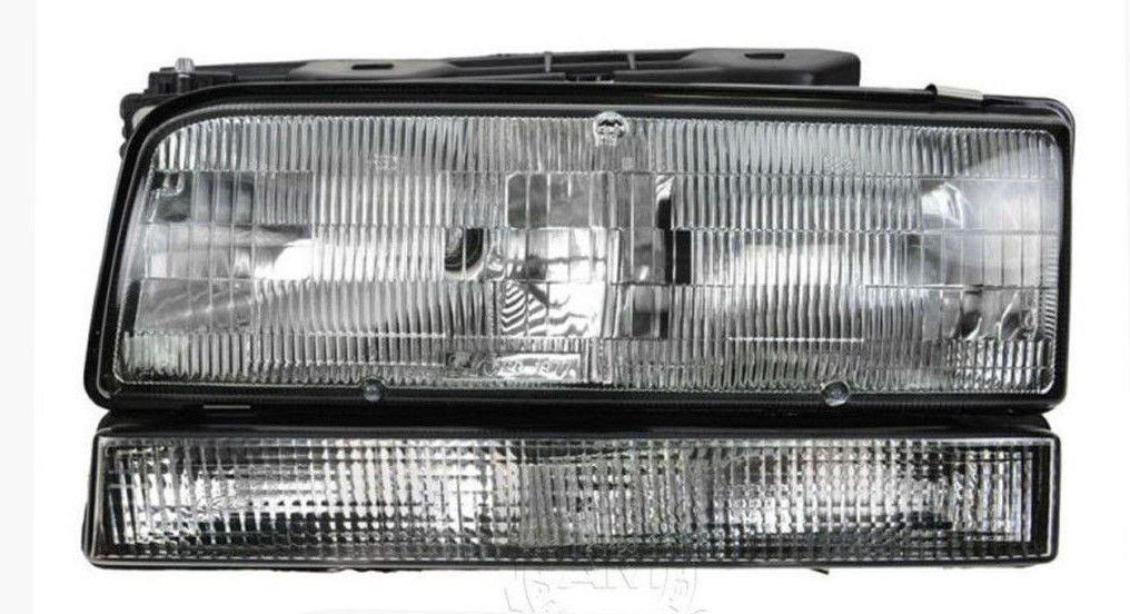 Amazon.com: HEADLIGHT HEADLAMP DRIVER SIDE LEFT LH FOR BK FIT LESABRE PARK AVE NSF GM2502127: Automotive