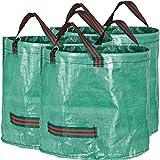 GardenMate pack of 3 x 60L garden waste bags (H38 cm, D45 cm)
