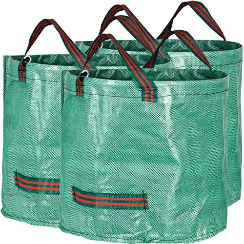 GardenMate 3-Pack 16 Gallons Reusable Garden Waste Bags (H15, D18 inches) – Yard Waste Bags