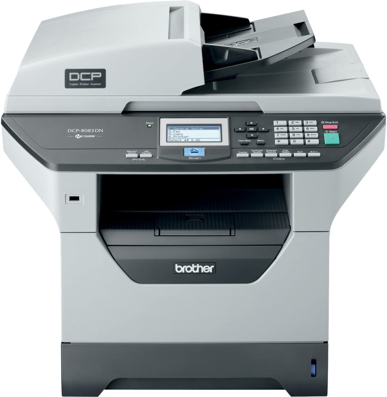 Brother DCP8085DN Multifunktionsger/ät USB 2.0, 64MB Speicher, 30 S//min, Papierkassette