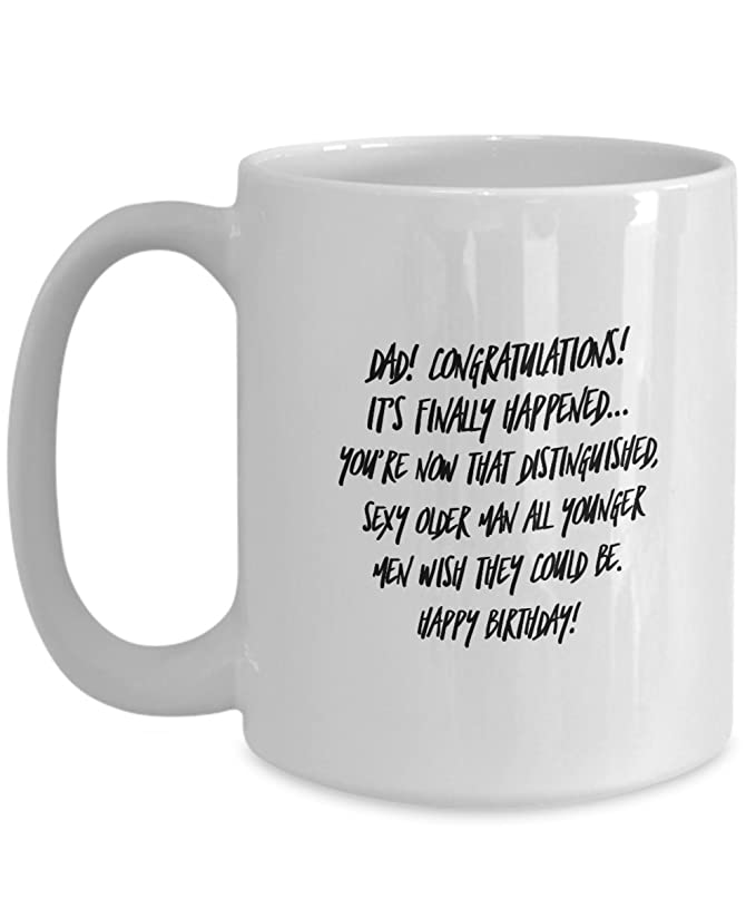 Amazon Awesome Dad Mug By Millionaire Moments 50th 60th 70th Birthday Gift For Gifts From Daughter Or Son