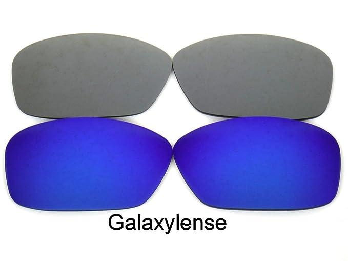 d3876271ff Amazon.com  Galaxy Replacement Lenses for Oakley Hijinx Gray Blue ...
