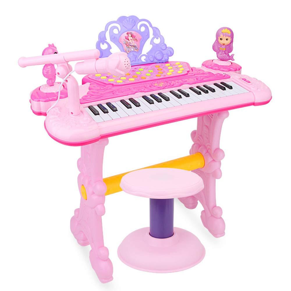precios mas baratos KYOKIM 37 DE DE DE Niños-Clave De Piano Electrónico, Multi-Funcional De La Niñez De La Educación Temprana Juguete con Micrófono  los nuevos estilos calientes