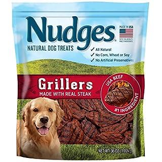 Nudges Steak Grillers Dog Treats, 36 oz
