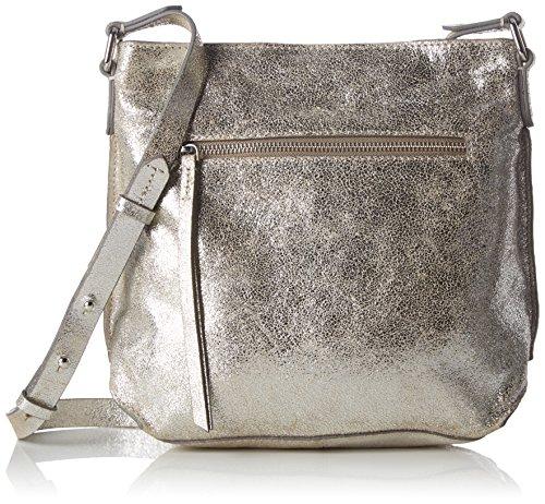 Clarks Topsham Jewel, Leather para Mujer, 10x25x31 cm (B x H x T) Plateado (Silver Leather)