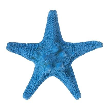 Exing Adorno de Acuario con Diseño de Estrella de Mar Artificial