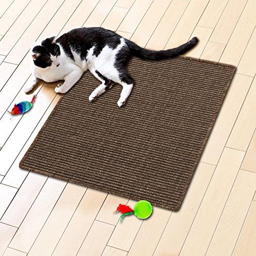 casa pura® Sisal Cat Mat, Tobacco Brown (24