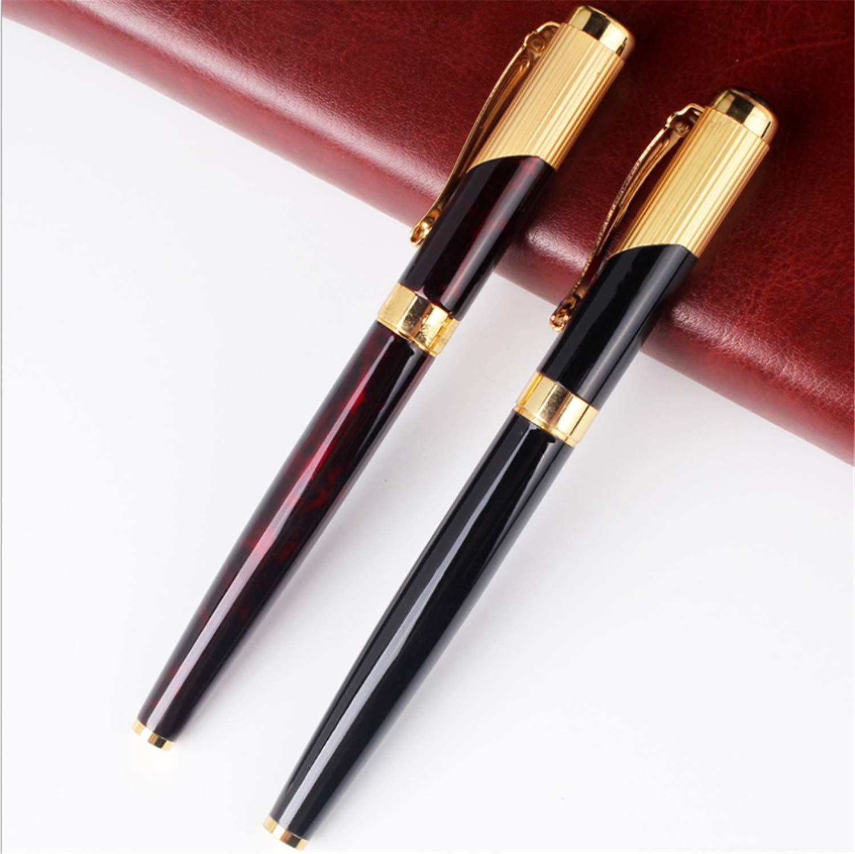 BIANJESUS Tintenroller Gold-Plated 2pieces Appointments Premium-Geschenkbox Expert Kugelschreiber Medium Nib schwarz Gold Gift School Business 0.7mm B07PMK62ND | Online-Exportgeschäft