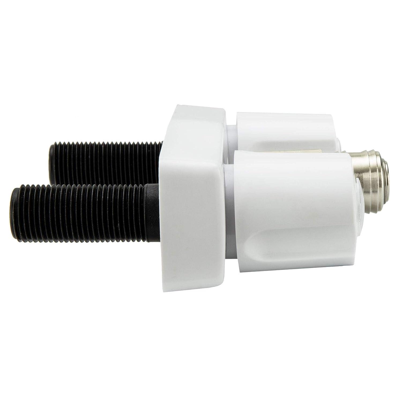 High Pressure Sprayer RecPro RV Exterior Faucet Hot//Cold No Flex Spout, Black Optional Flex Spout RV Exterior Shower Faucet Metal RV Exterior Sprayer Faucet