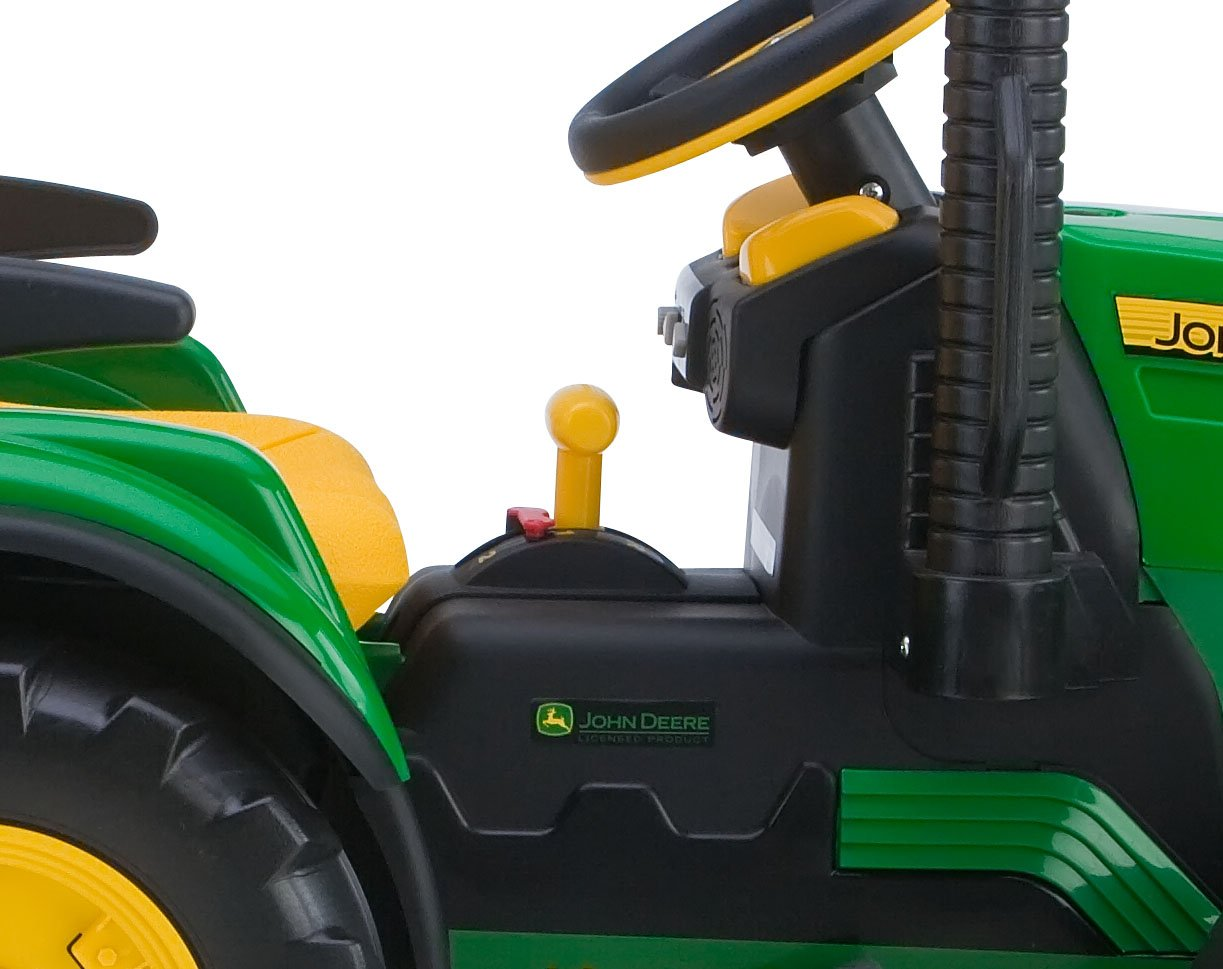 Peg Perego John Deere Ground Force Tractor With Trailer Amazonco Diy Electric Page 3 Of 4 Toys Games