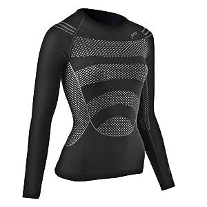 F-Lite Megalight 200 T-shirt à manches longues pour femme noir Noir
