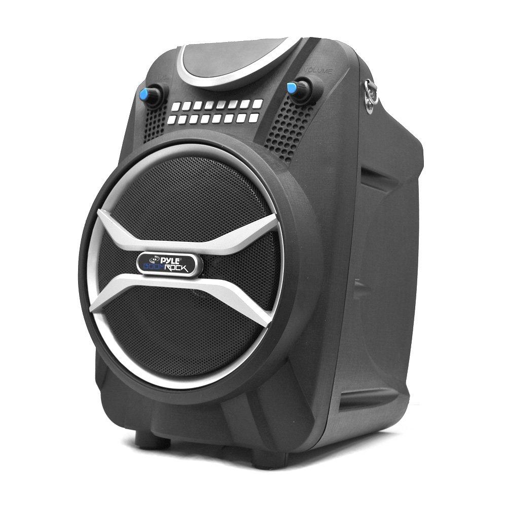 ahorrar en el despacho Pyle PWMAB210BK Hogar Inalámbrico Inalámbrico Inalámbrico sistema de - Karaoke (200 W, Inalámbrico, SD, LCD, 110-220, 4,98 kg)  cómodo