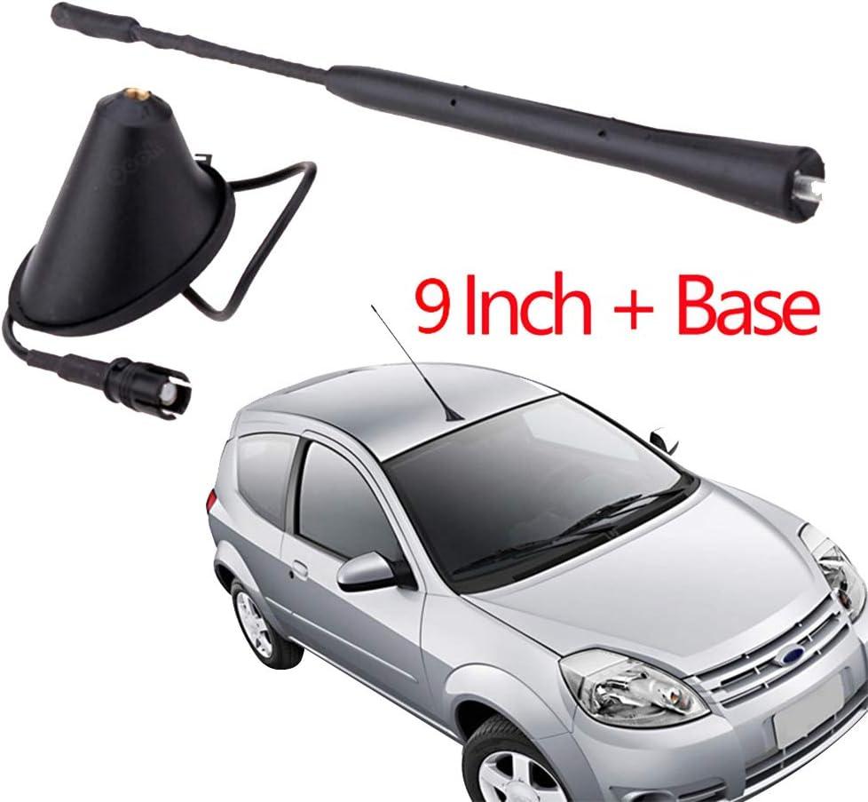 ETbotu 22,9/cm Professional Antenna FM Accessori Auto per BMW Z3/Z4/m3/330/325/323/318/con Base