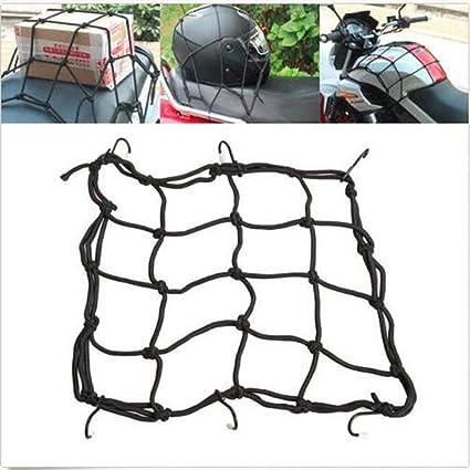 Negro Red de tanques de combustible para motocicletas Qft422