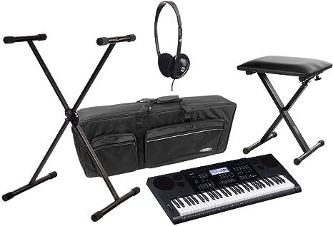 Casio CTK-1100 6200 Juego de Deluxe de teclado con soporte ...