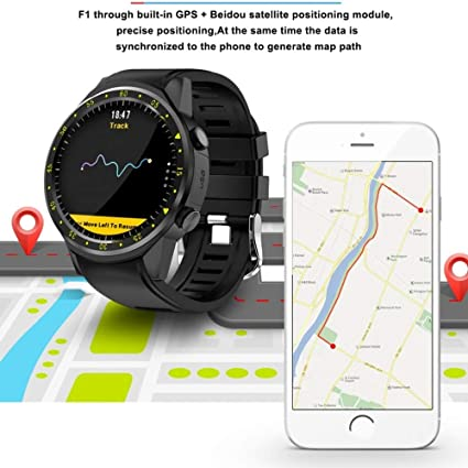 ZLOPV Deportes Smartwatch Compatible con Bluetooth Monitor ...