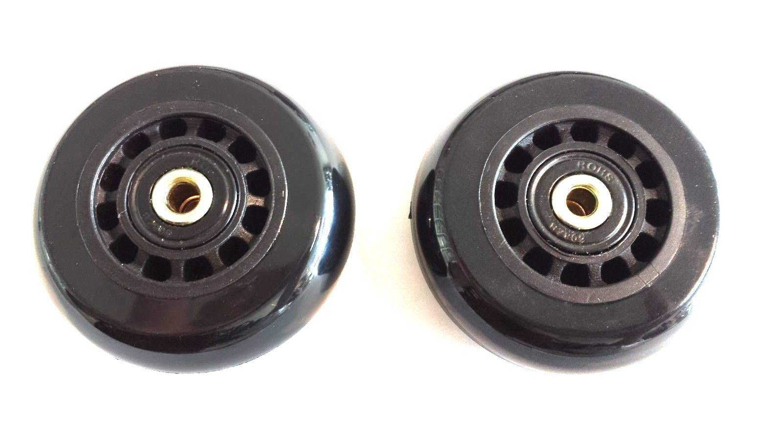 TNPSHOP Replacement Hartmann Roller Wheels, 2 Axles and 2 Wheels Included.