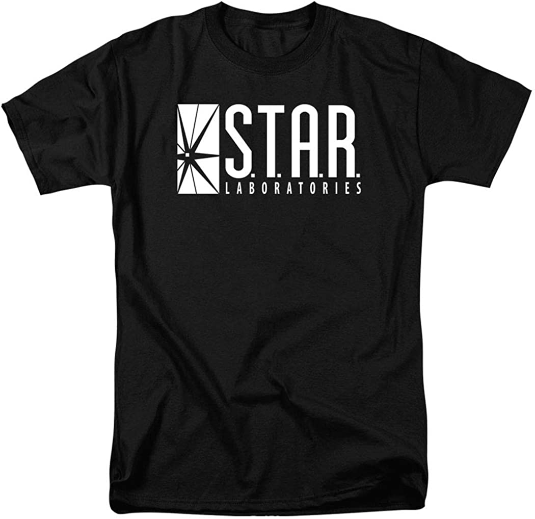 Flash Star Labs Superhero S.T.A.R. Laboratories T Shirt