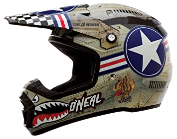ONeal 5Series Helmet Wingman metal / white