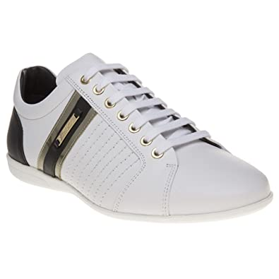 Versace Collection Formal Homme Baskets Mode Blanc  Amazon.fr ... ff09da658f0