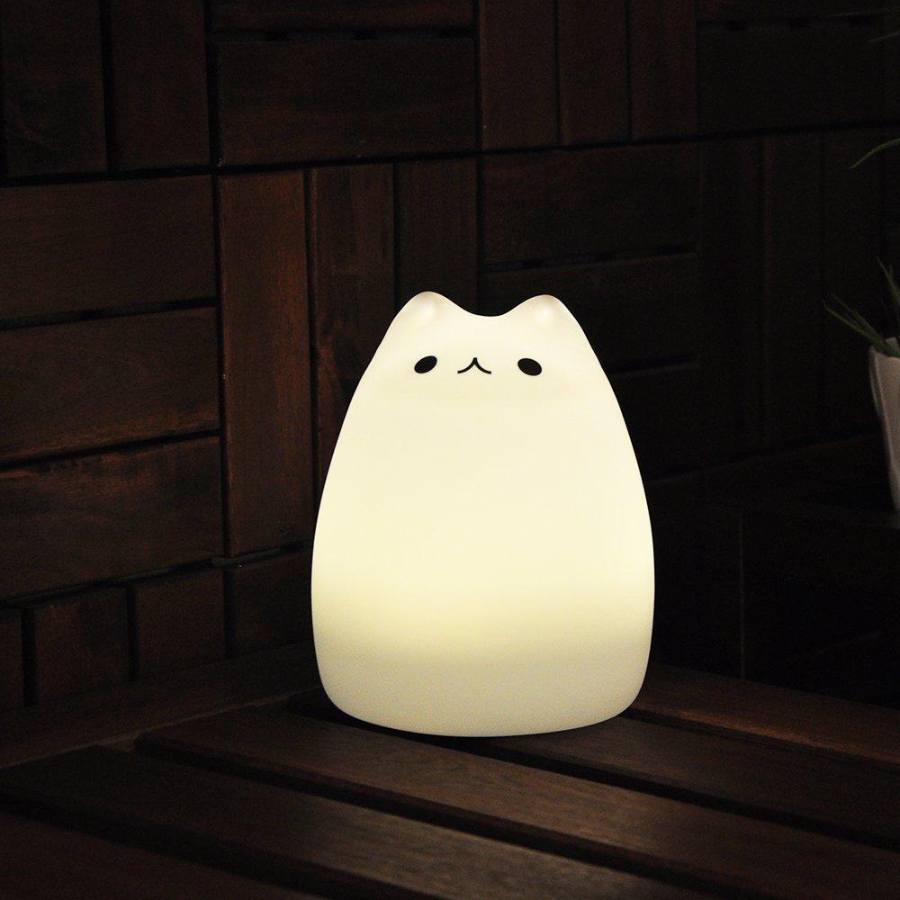 Amazon.com: GUO Portable LED Children Night Light Kids Silicone ...