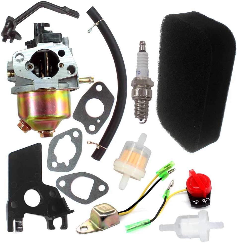 AISEN Carburetor for Champion Power Equipment CPE 3000 3500 4000 Watt 6.5HP Honda Gx120 Gx160 GX168 Gx200 5.5Hp Carb Air Filter 3000W 3500W 4000W