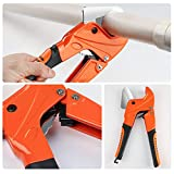 AIRAJ Labor-saving PVC Pipe Cutter, Ratchet Hose