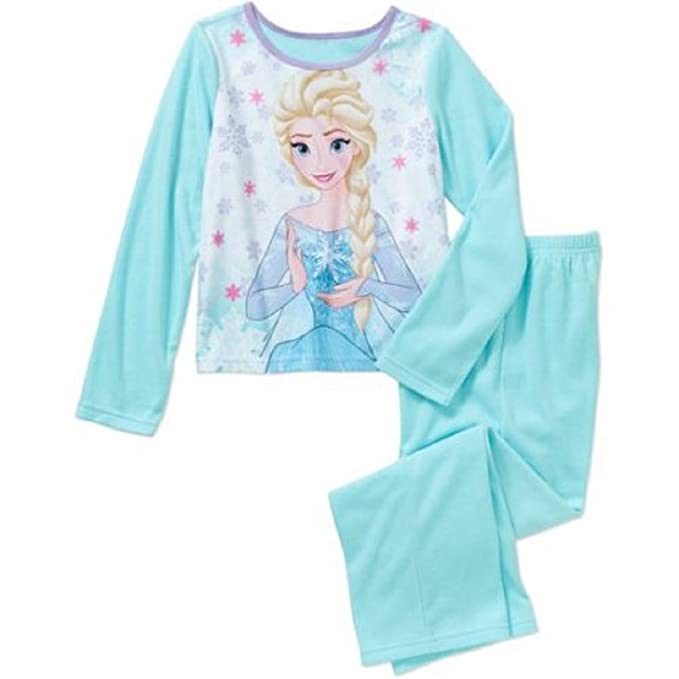 d948811c8c8a Amazon.com  Girls Frozen 2 Piece Sleepwear Set (XS 4-5