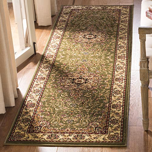Safavieh Lyndhurst Collection LNH329B Traditional Medallion Sage and Ivory Runner (2'3