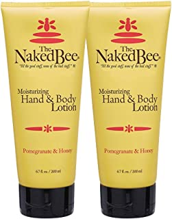 product image for The Naked Bee Pomegranate & Honey Hand and Body Lotion, 6.7oz - 2 Pack