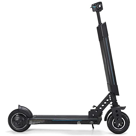 Electric Sit Down Scooter >> Amazon Com Kchex Foldable Electric Scooter With Removable Seat