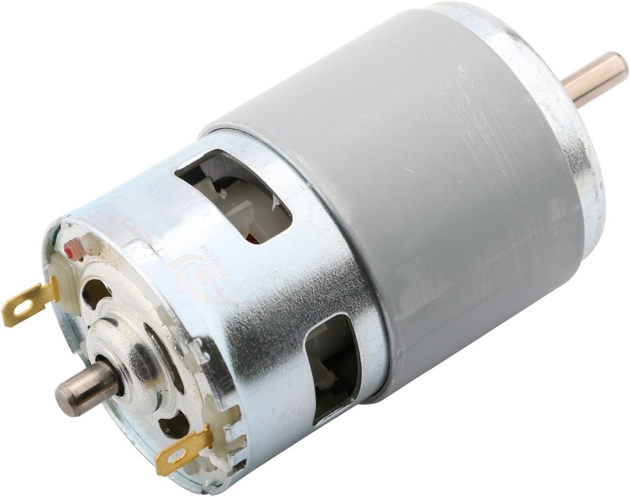 775 DC 12V RPM 6000 30W Motor Ball Bearing Power adaptor 12 15 16 18 19 20 24V