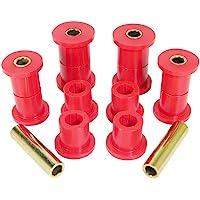 Prothane 1-1005 Red Front Spring Eye and Shackle Bushing Kit for CJ5, CJ6, CJ7, CJ8 and YJ