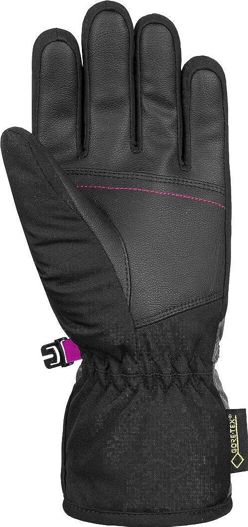 Reusch Brita GTX Gloves Kinder Black//Black Melange//pink glo 2018 Handschuhe