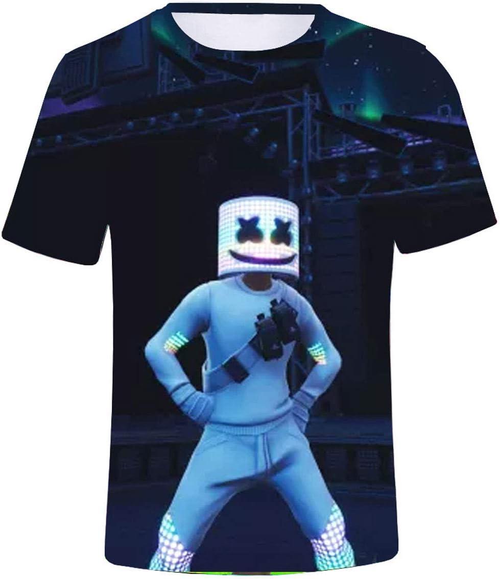 Camiseta estampada en 3D para verano caliente Dj Fortress ...