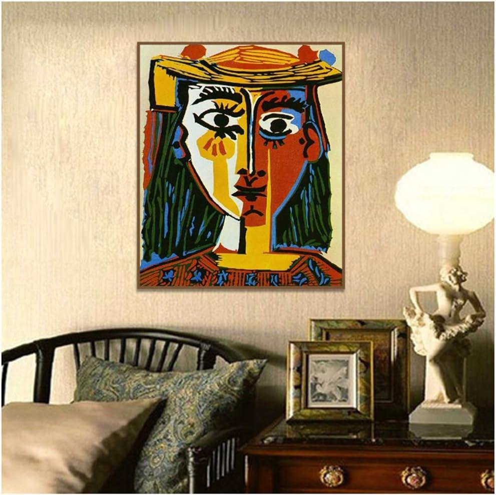 Fondo Abstracto Lienzo Cubismo Arte de la Pared Decoración Carteles e Impresiones Arte de la Pared Pintura sobre Lienzo Sala de Estar Decoración del hogar 15,7