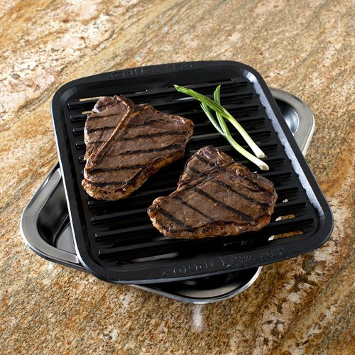 Nordic Ware Cast Grill N Sear Oven Pan The Home Kitchen
