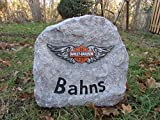 Address Stone - with silhouette/logo of your choice - 20'' x 20'' x 10'' - artificial