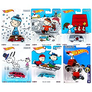 peanuts hot wheels snoopy charlie brown christmas set collectible pop culture car 2016 red baron - Snoopy Red Baron Christmas Song