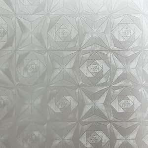 Mirage Rose - Self-Adhesive Embossed Window Film Home Decor(Roll)