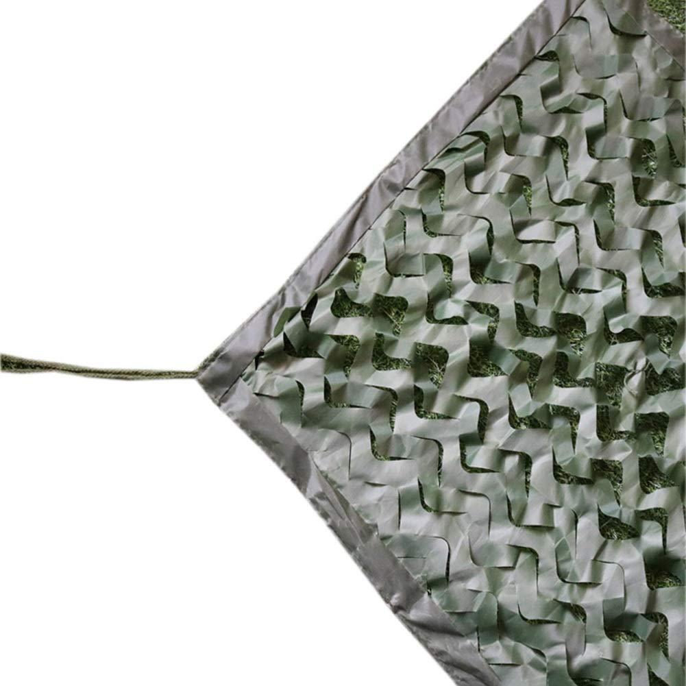 CAIJUN オーニングシェード 遮光ネット 緑 迷彩ネット 多目的 縫製エッジ 丈夫な 日焼け止め 防塵、 カスタムサイズ (Size : 8x9m) B07S8HCJ8K  8x9m