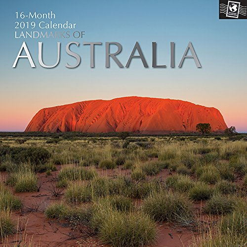 - 2019 Wall Calendar - Landmarks of Australia Calendar, 12 x 12 Inch Monthly View, 16-Month, Travel and Destination Theme, Includes 180 Reminder Stickers