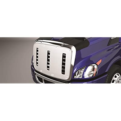 Belmor WF-3041-1 White Winterfront Truck Grille Covr for 2020-2020 Volvo VNR: Automotive