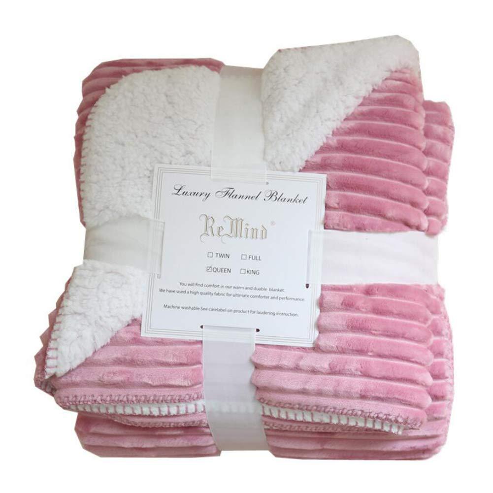 Amazon.com: LVRUI - Manta de cama tamaño King – Manta suave ...