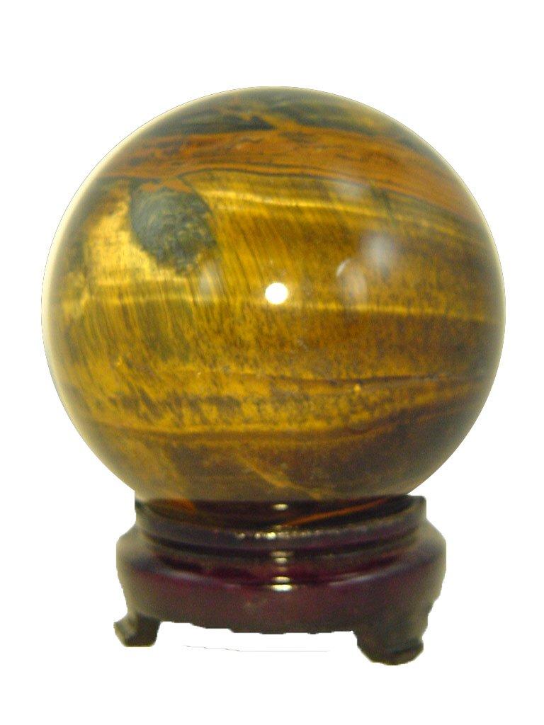 Amazon.com: africano ojo de tigre curación Sphere Orb ...