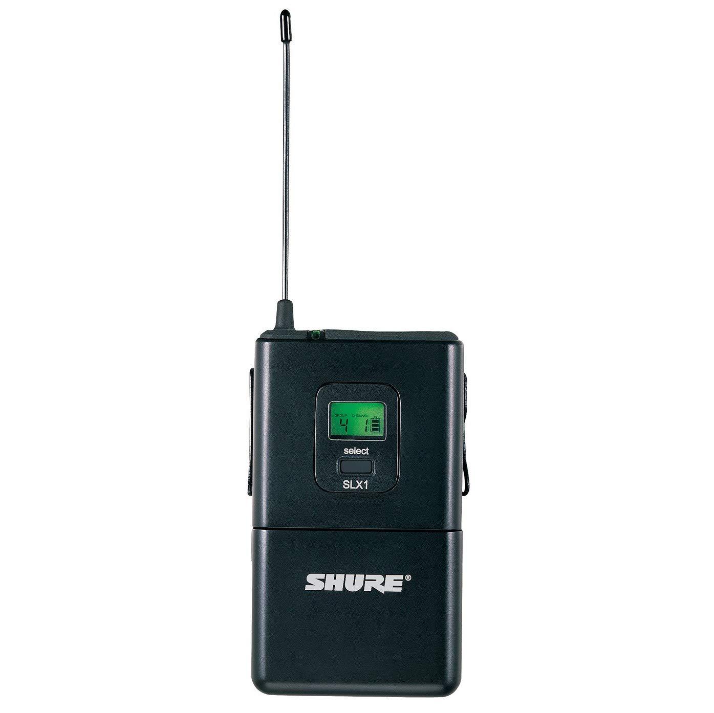 Shure SLX1 Bodypack Transmitter, J3 by Shure