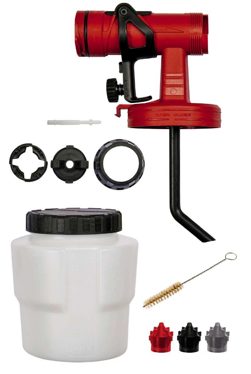 Einhell Farbspr/ühaufsatz 800 ml passend f/ür elektrische Farbspr/ühsysteme